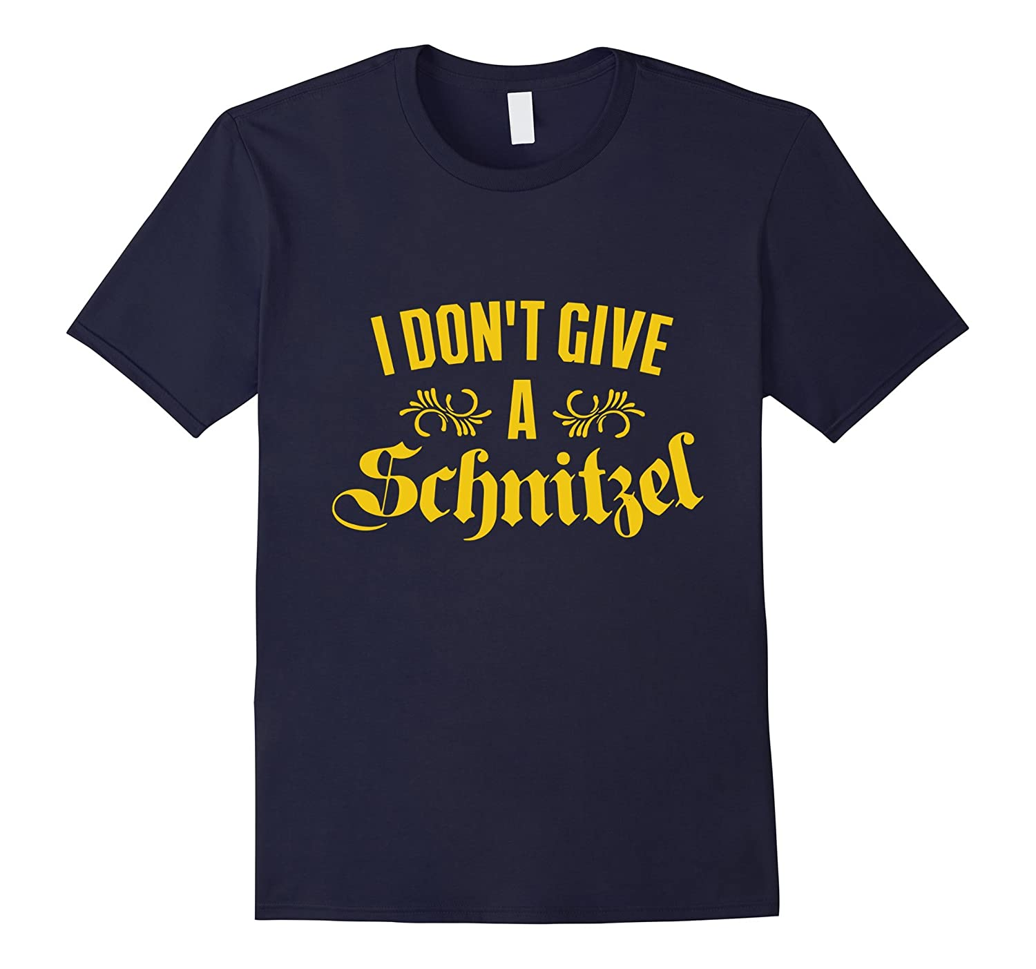 I Don't Give a Schnitzel T- Shirt-BN