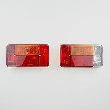 Traktor Anhänger Beleuchtung | Radex Anhanger Rucklicht Set Ruckleuchten Beleuchtung Caravan