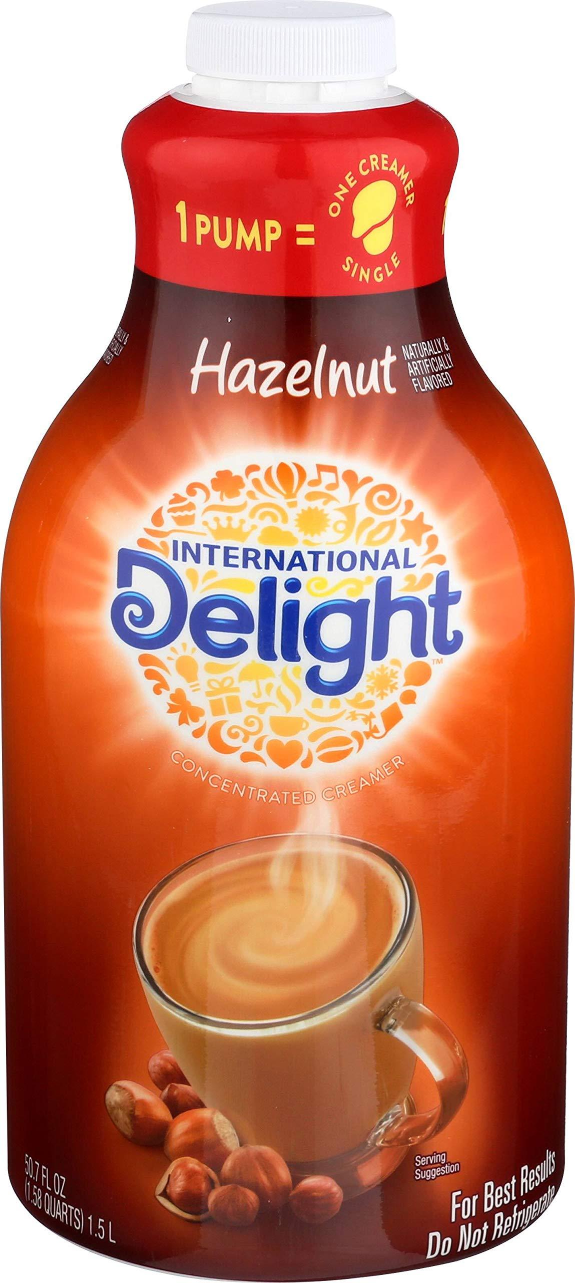 International Delight Hazelnut Coffee Creamer Pump, 50.7 oz by International Delight