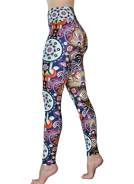 Amazon.com: Cómodos pantalones de yoga – Leggings de yoga de ...