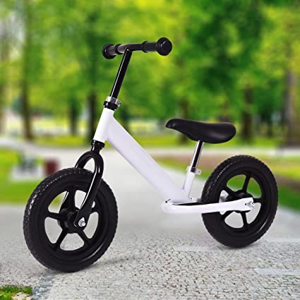 Excellent Buy Md Group Md Group Kids Balance Bike No Pedal White Steel Pdpeps Interior Chair Design Pdpepsorg