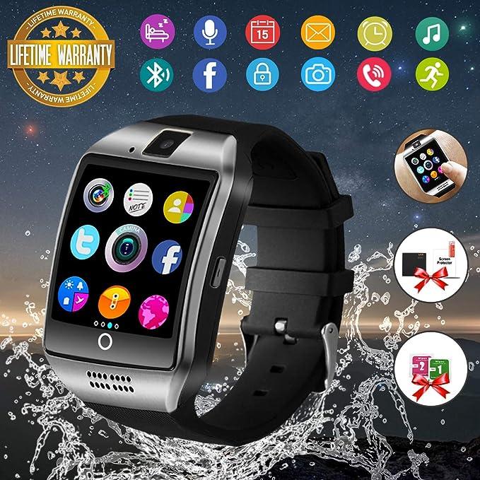 Reloj Inteligente Hombre Android con cámara, Smartwatch Hombre ...