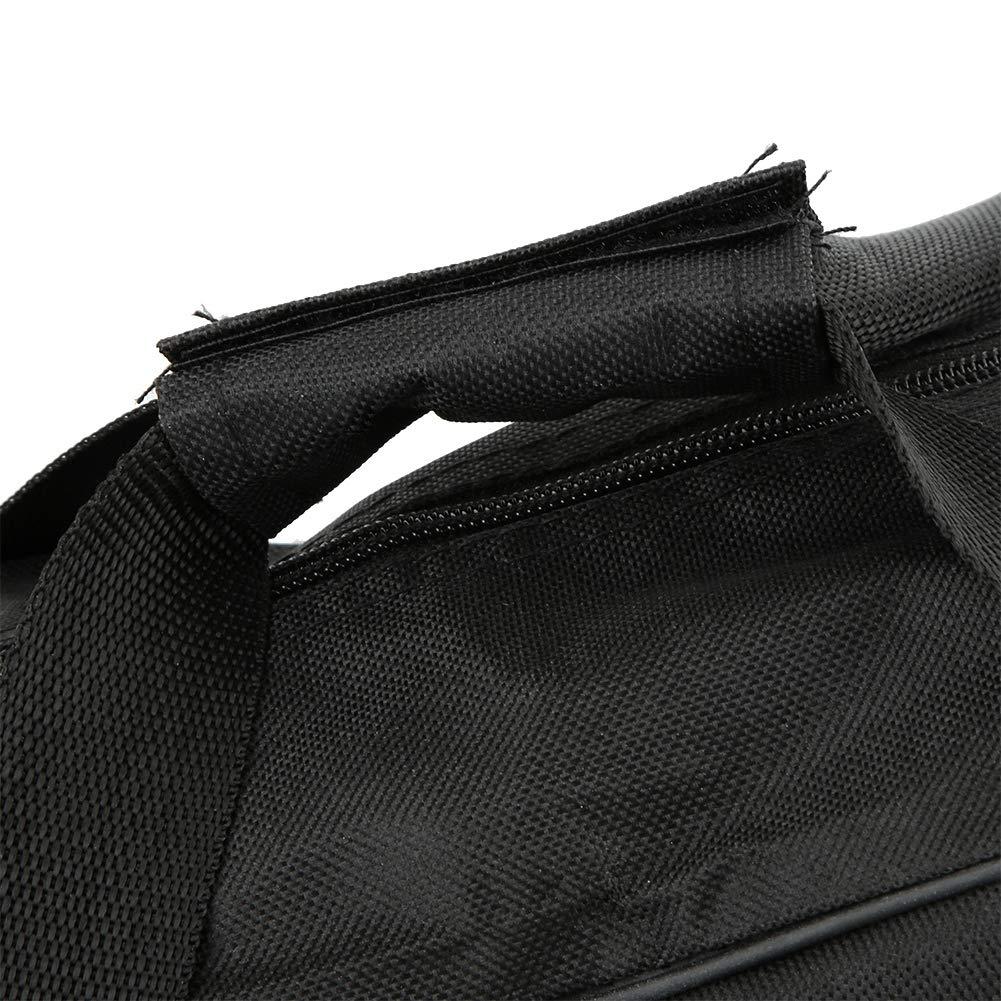 Negro Motosierra no incluida Motosierra port/átil Bolsa de Transporte Oxford Motosierra Funda Protectora Motosierras Soporte Bolso para Hombres Carpinter/ía Le/ñador 18 Pulgadas