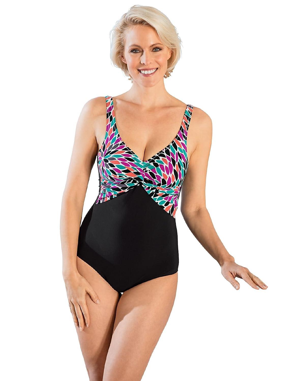 Avena Damen Badeanzug Shape Effect Schwarz Gr. 40