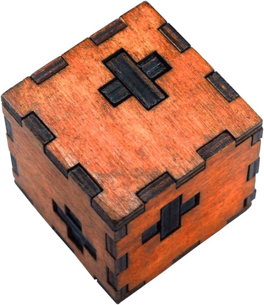 TOOGOO Juguete de Inteligencia de Madera Juego de Rompecabezas Chino 3D IQ Puzzle para ninos Adultos (M): Amazon.es: Juguetes y juegos