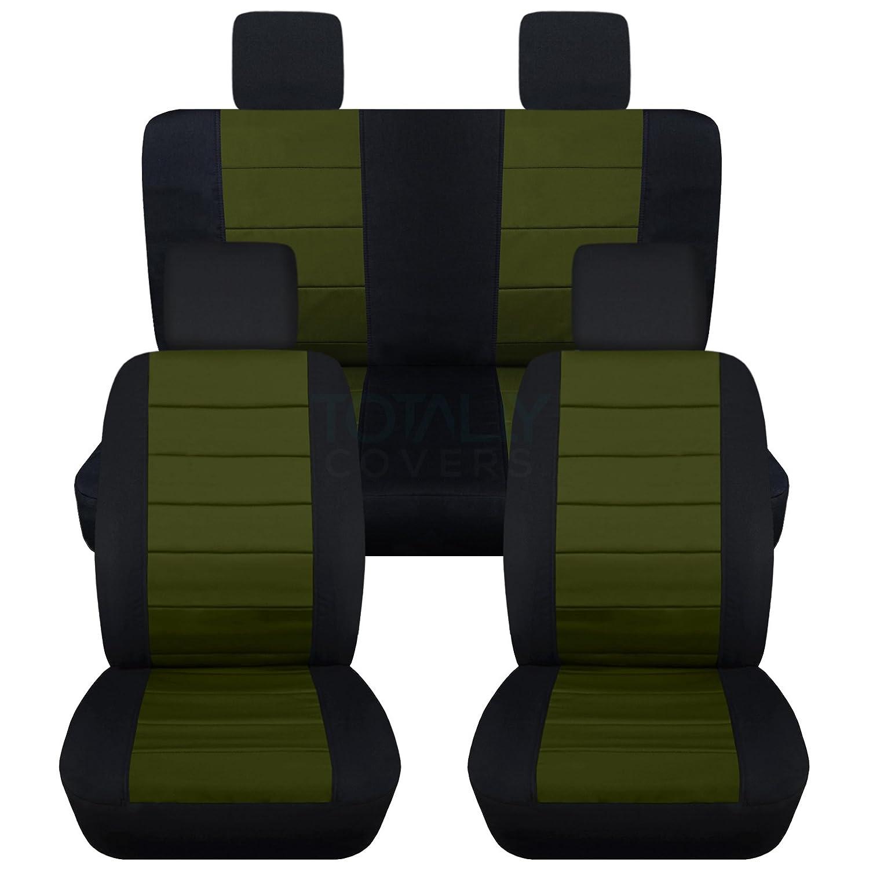 Smittybilt Neoprene Front Rear Seat Cover Set