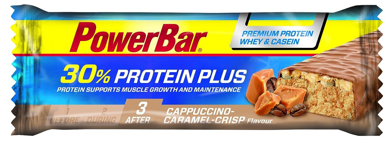 Powerbar Protein Plus Bar 30% Cappuccino Caramel Crisp - 15 Barras: Amazon.es: Salud y cuidado personal