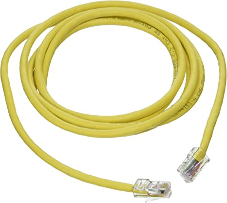 PcConnectTM CAT5E UTP Grey 7 foot Bootless Ethernet Cable