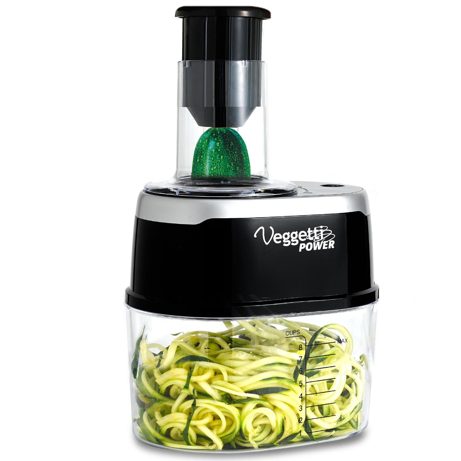 ONTEL Veggetti Power 4-in-1 Electric Spiralizer Turn Veggies Into Healthy Delicious Meals As Seen on TV