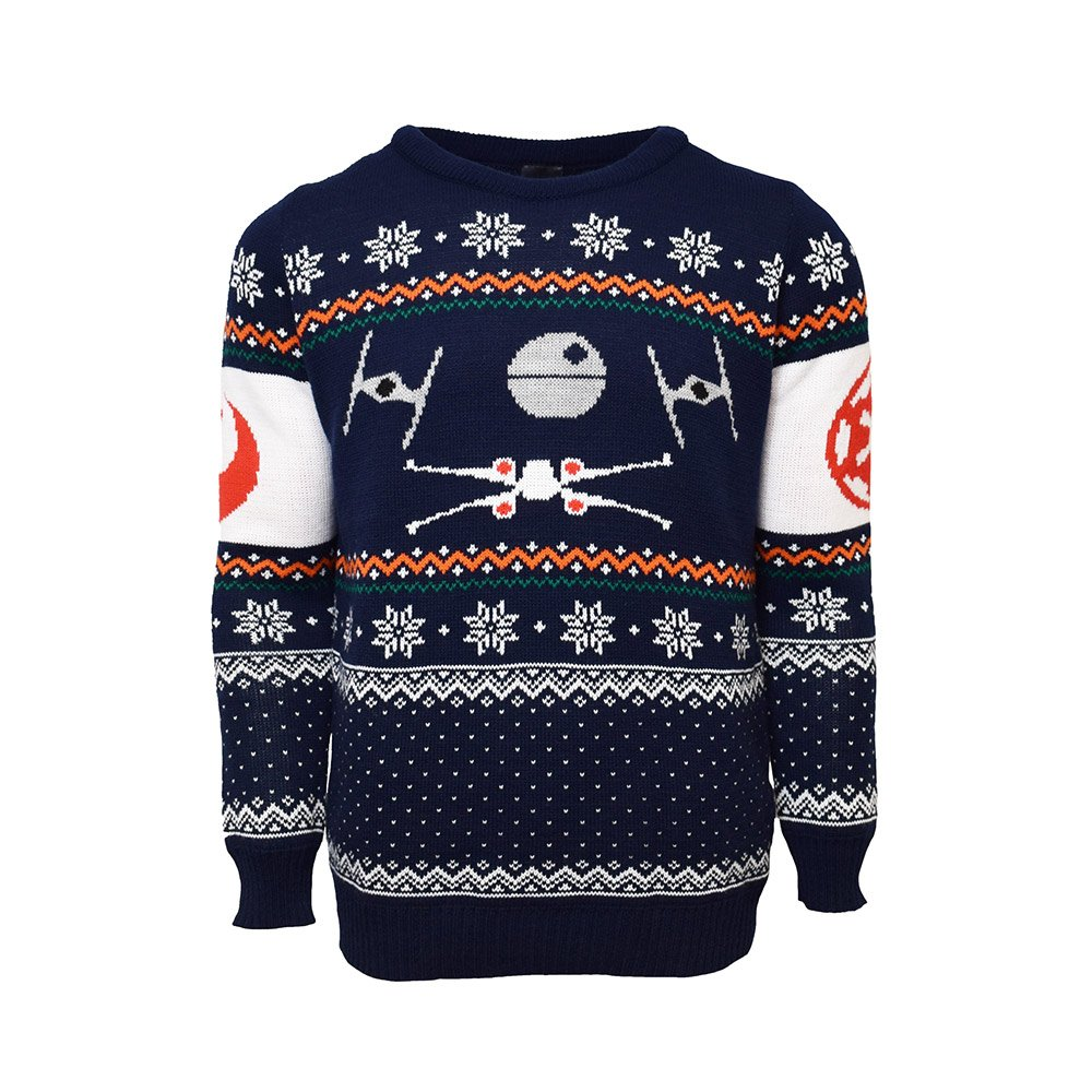 X-Wing Vs. Tie Fighter Official Star Wars Christmas Jumper / Sweater (Small) Numskull