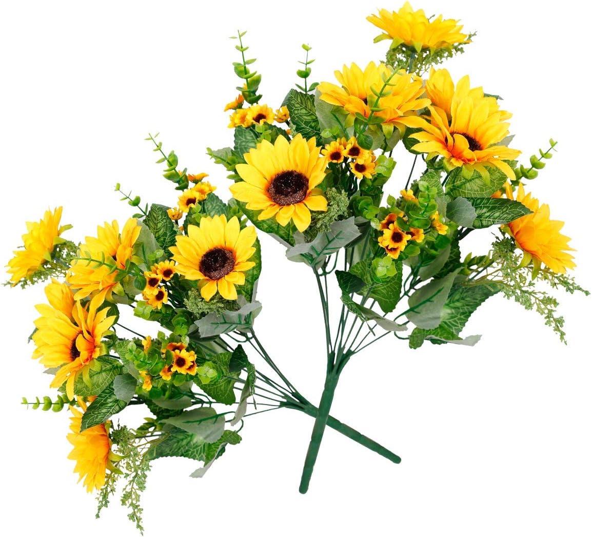 Assorted Silk Sunflower Bouquet
