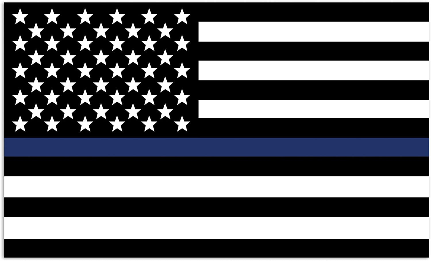 Mind Your Magnets American Flag Car Magnets - Car Magnets and Decals - Blue Lives Matter Flags - Car Magnet Decal - Thin Blue Line - Flag Magnet - Police, Sheriff, SWAT, Air Force, Navy Flags