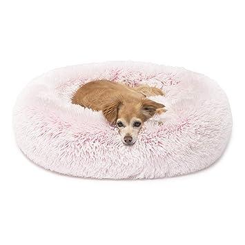 Amazon.com: Cama para gatos de piel sintética para perros ...