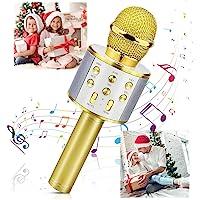 Micrófono Inalámbrico Karaoke Bluetooth, Fotgear Portátil Inalámbrico Karaoke Bluetooth Dispositivo de Mano con…