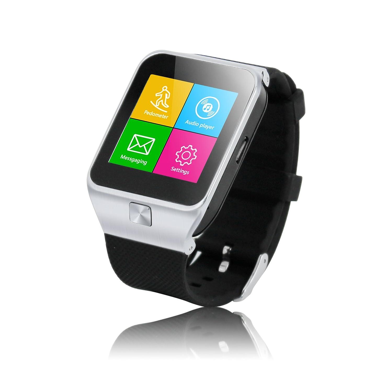 WECODO Bluetooth Android inteligente reloj de pulsera y reloj ...