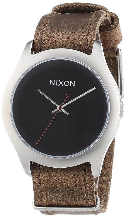 Mod Quarz Damen Leder Leather A428400 Nixon Armbanduhr Analog Brown 5qRS4ALc3j