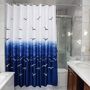 LI LI NA SHOP Europäische Badezimmer Duschvorhang Trennwand Bad ...