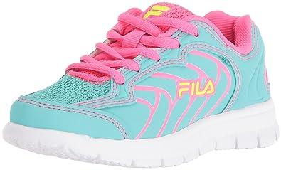 269e80f58b92 Fila Girls  Star Runner Skate Shoe