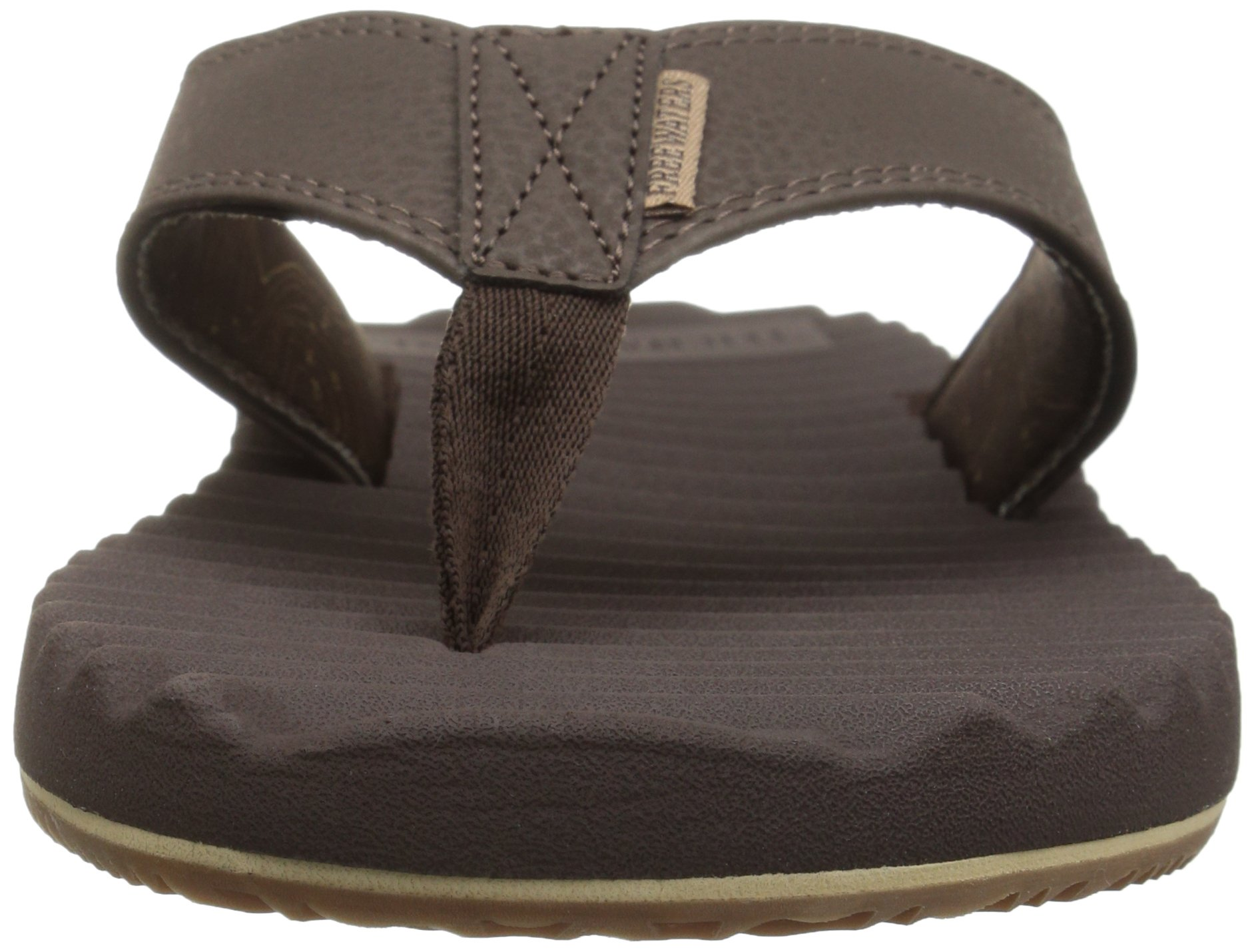 Freewaters Men's Basecamp Therm-a-Rest Flip Flop Sandal, Brown, 10 M US by Freewaters (Image #4)