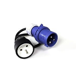 XL Perform Tool 552876 Adaptateur Électrique pour Borne Camping