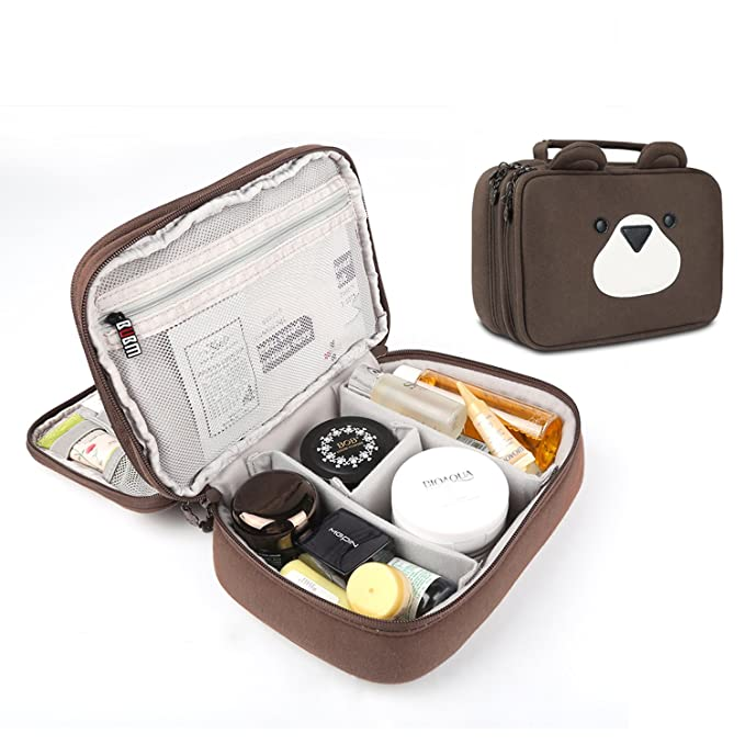 e50d54eb4c Travel Electronics Organizer Carrying Bag - BUBM Portable Carrying Case Toiletry  Bag Gadget Storage Bag for Cords