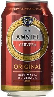 Amstel Cerveza - Pack de 24 Latas 330 ml - Total: 7.9 L ...