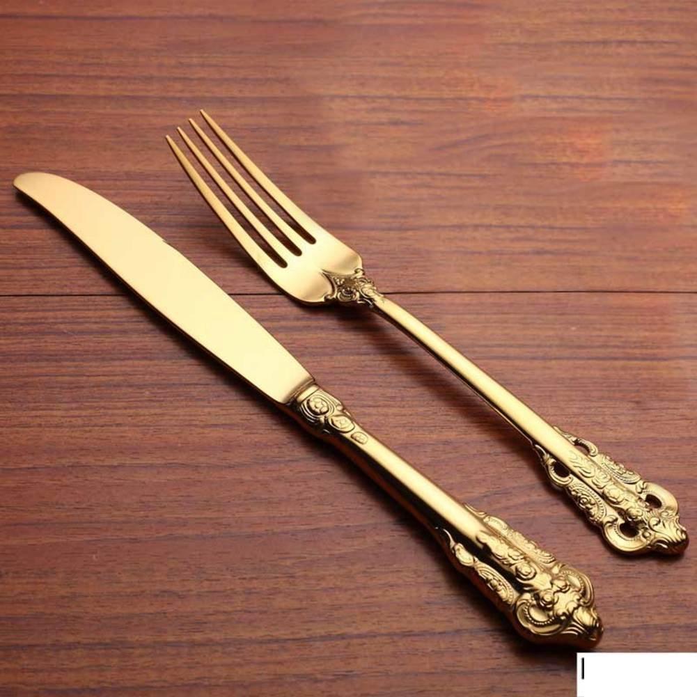 テーブルウェアのセット、食器/カトラリー/テーブルアクセサリー/Cutlery/カトラリーボックス/ステーキ皿/ポータブルUtensils RANGYWR  C B0716JDPJ4