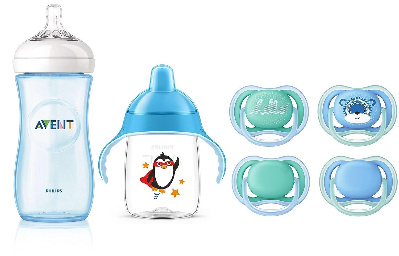 Philips Avent Set de Niño de 6 meses - Biberón SCF698/17, tetina ...