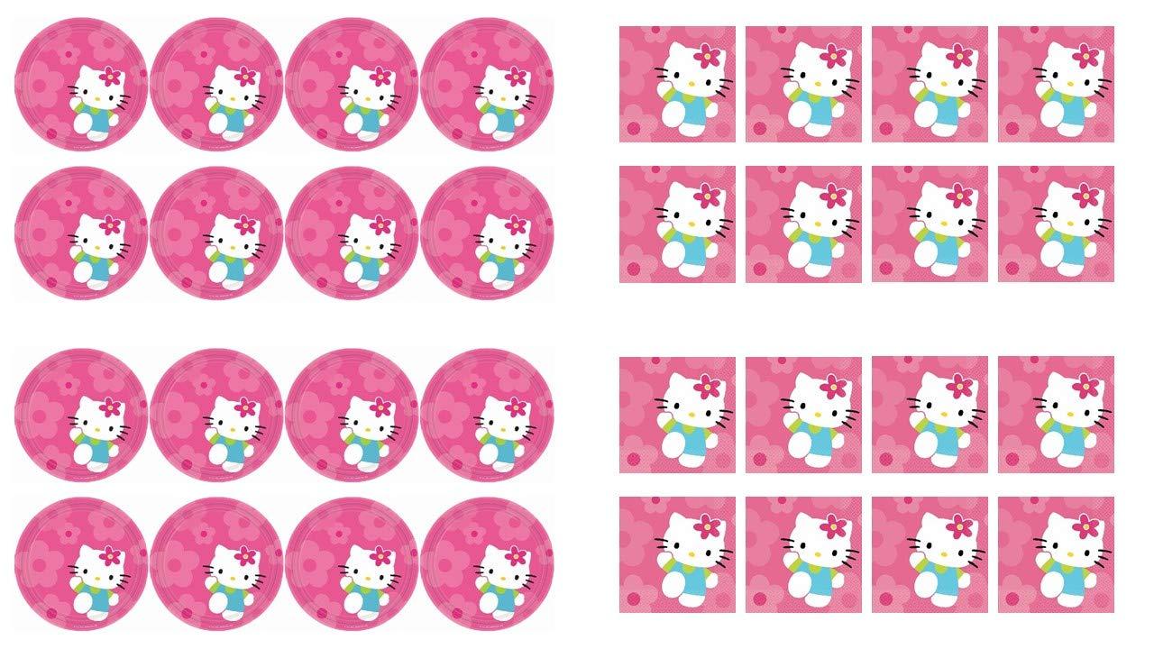 ALMACENESADAN 2490; Pack Desechables Hello Kitty; Compuesto ...