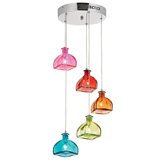 Best 5 Light Cascade Pendant Light: Amazon.co.uk: Lighting NU13