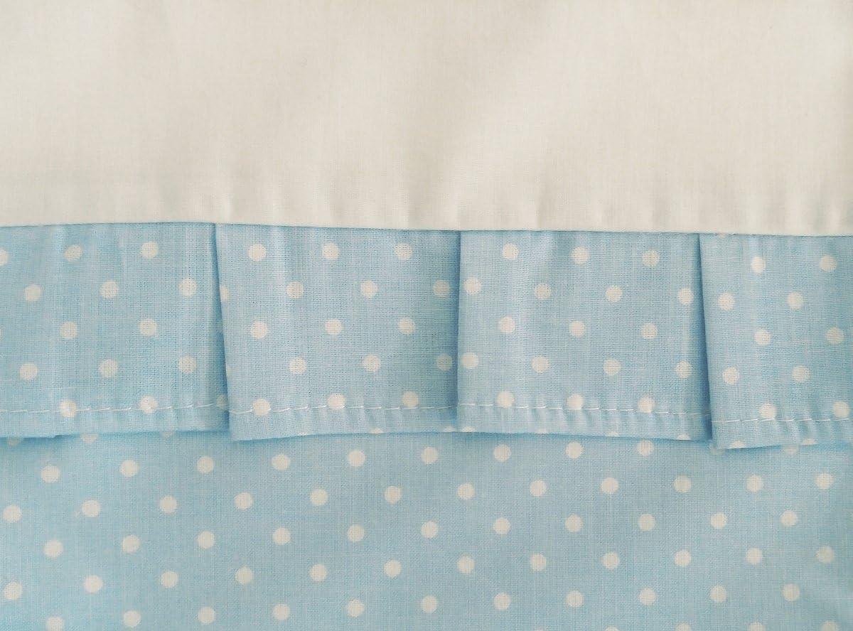 Bleu Et Blanc 100/% COTON 150x200cm Fabriqu/é UE pas de substances nocives C Vizaro HOUSSE DE COUETTE NORDIQUE du LIT 80-90x180-200cm et TAIE DOREILLER