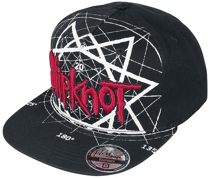 Slipknot Jumbo Star Cap Black  Amazon.co.uk  Clothing f75a1638bc2