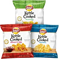 Deals on Lay's Kettle Cooked Potato Chips Variety Pack, 40 Count