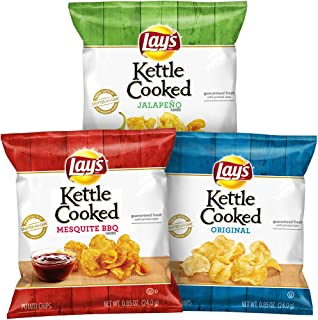 product image for Lay's Kettle Cooked Potato Chips Variety Pack, 40 Pack