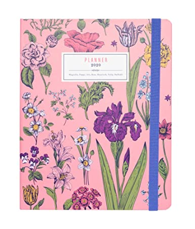 Amazon.com : Flowers Weekly Planner, Yearly Planner, Daily ...