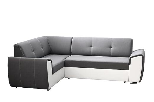 MB tosco sofá sofá sofá con Chaise Longue Dormir Función y ...