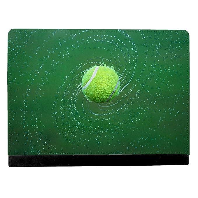 Imagen de mojado de pelota de tenis Spinning y tirar de espiral de ...