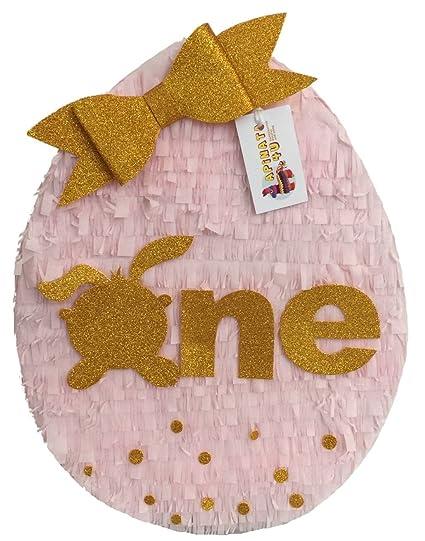 Amazon.com: apinata4u One Primer Cumpleaños Piñata, diseño ...