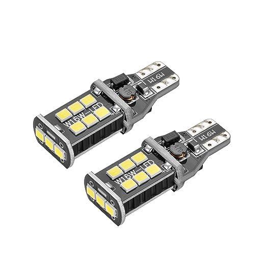 4 opinioni per Bogao, coppia di lampadine LED per luci di retromarcia e parcheggio, T15W16W