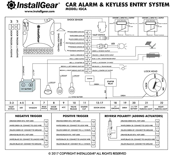 avital 4111 wiring diagram double pole relay wiring