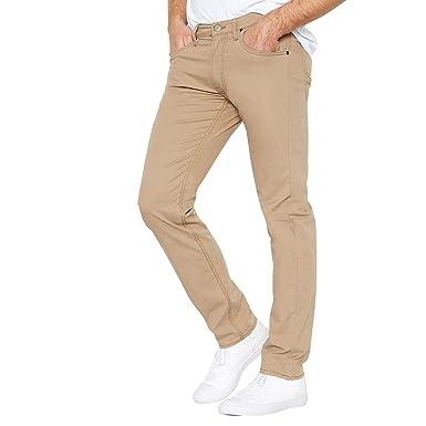 d1167441 Lee Men Beige 'Daren' Regular Straight Fit Jeans: Lee: Amazon.co.uk ...