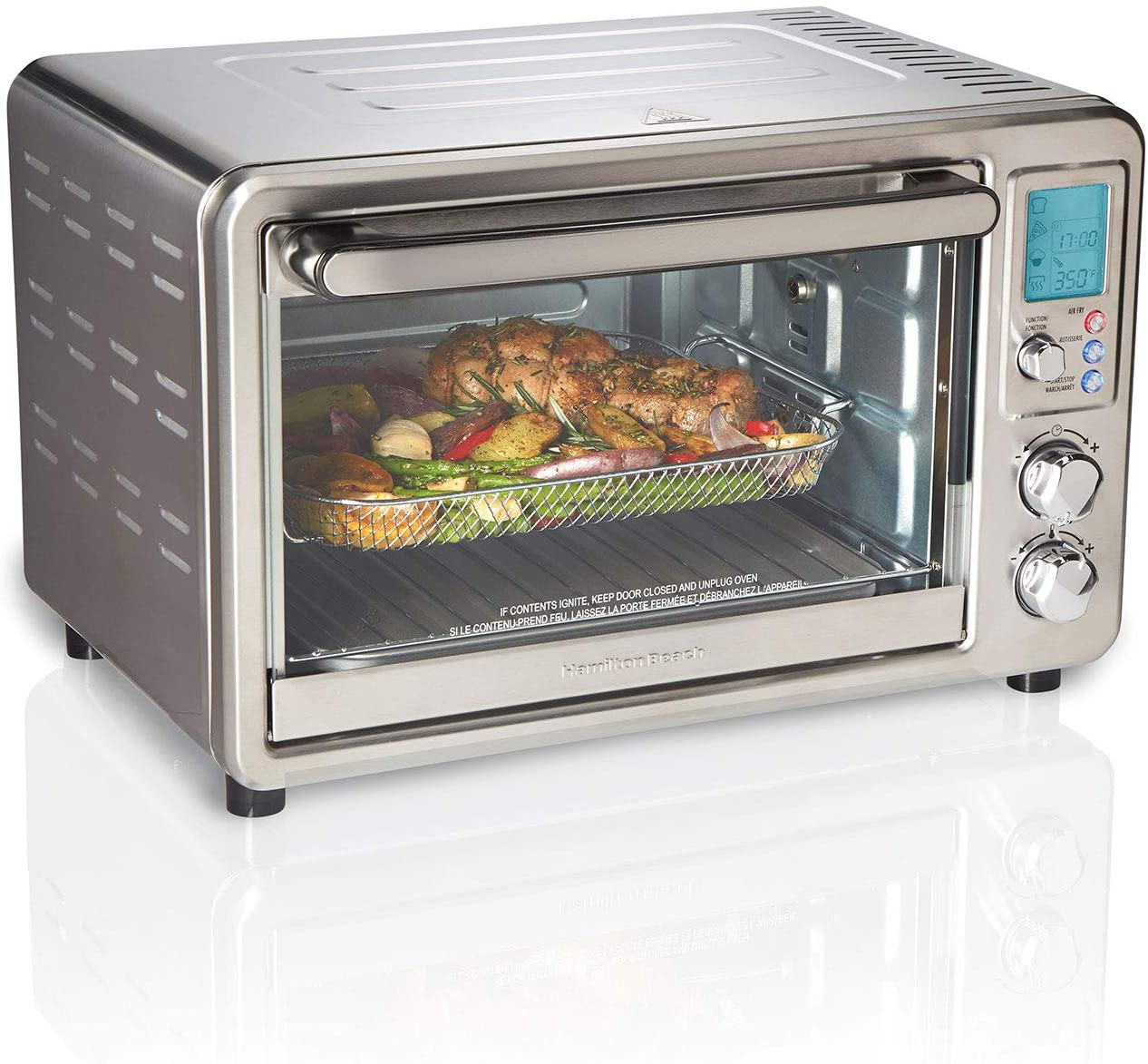 Hamilton Beach Sure-Crisp Digital Air Fryer Toaster Oven with Rotisserie | 31193