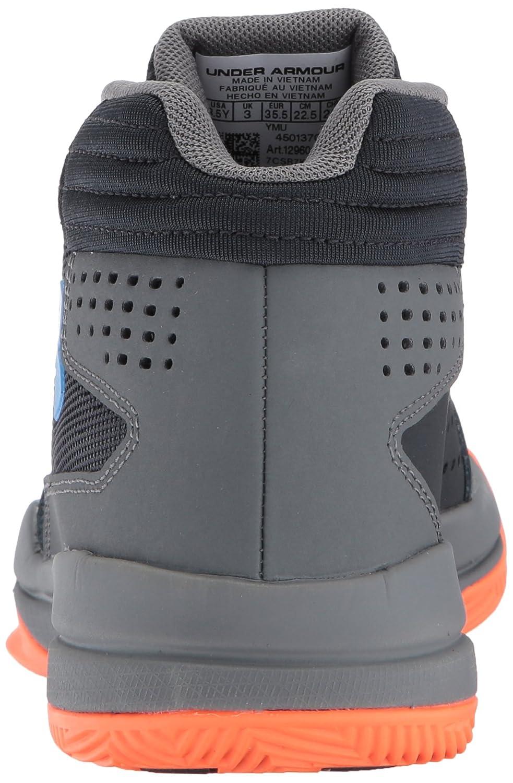 Under Armour UA Bgs Jet 2017, Scarpe da da da Basket Bambino B01NBFKT9U 37.5 EU Grigio (Graphite) | Sensazione Di Comfort  | Adatto per il colore  | Di Prima Qualità  | marche  | Trendy  839022