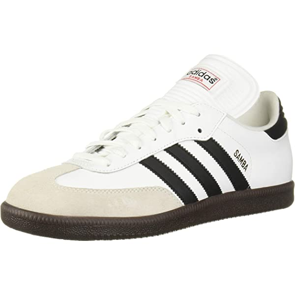 adidas Samba Classic Indoor Soccer Shoe BlackWhite