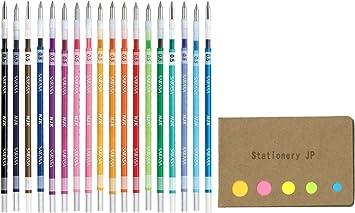 Zebra Gel BallPoint Pen Refill for Sarasa Multi Function Pen Red Ink 0.5mm Point RJK-R