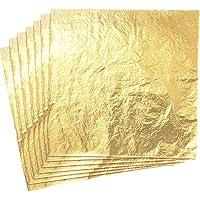 Yongbest Hojas Pan de Oro de Imitación,100 Hoja