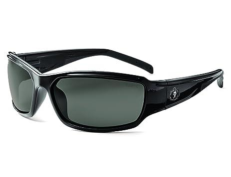 Ergodyne Skullerz Thor Safety Sunglasses - Black Frame, HCP Red Lens by Ergodyne