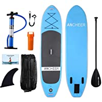 Deals on Ancheer Inflatable Stand Up Paddle Board 10-ft iSUP Package