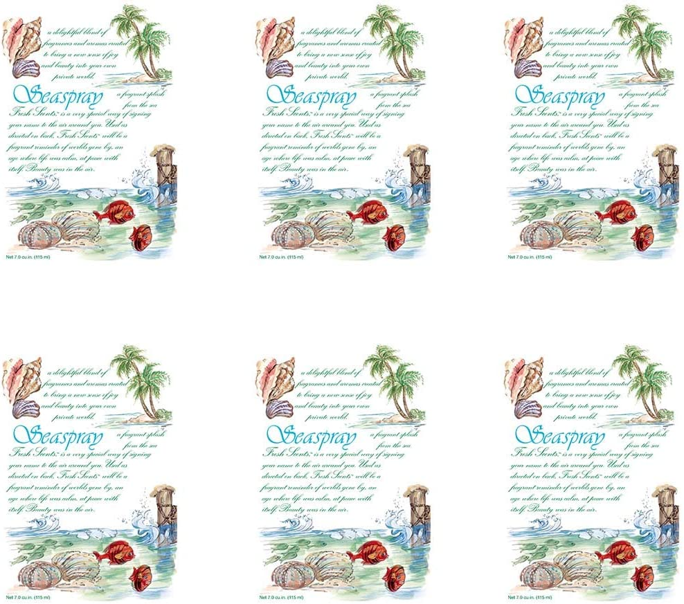 WILLOWBROOK Fresh Scents Scented Sachet - Seaspray, 6-Pack