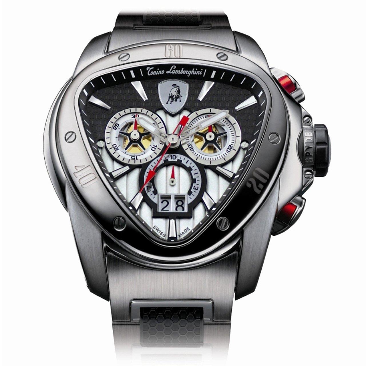 Amazon Com Tonino Lamborghini Spyder Chronograph 1000 Watch Watches